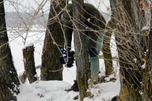 Мастер-класс как сделать снегоступы