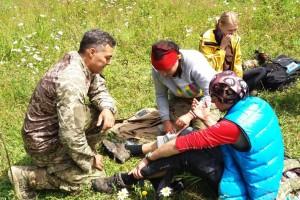 Тренинг по медицине в Карпатах