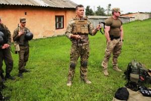 Тренинг с бойцами-спасателями Национальной гвардии