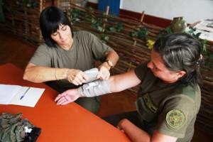 Тренинг по медицине в Национальной гвардии