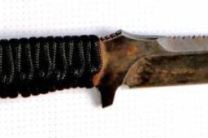Нож лагерный - 1