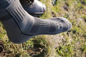 Носки треккинговые с текстурными термозонами зимние