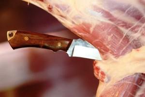 Нож цельнометаллический №1