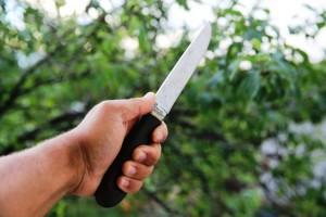 Нож стальной разделочный